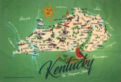 Kentucky Kitchen Towel