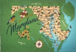 Maryland Kitchen Towel