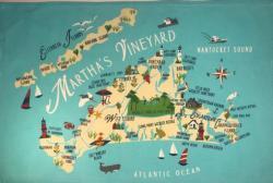 Marthas Vineyard Kitchen Towel