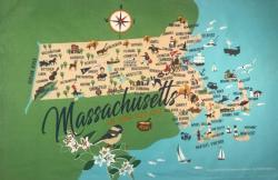 Massachusetts Kitchen Towel