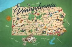 Pennsylvania Kitchen Towel