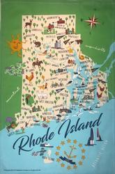 Rhode Island Kitchen Towel