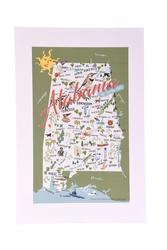 Alabama Print