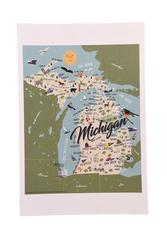 MICHIGAN PRINT