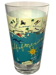 Gulf of Mexico Pint Glass