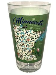 Minnesota Pint Glass