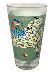 New York Pint Glass