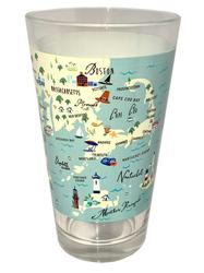 Northern Shores Pint Glass