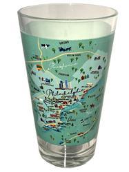 Philadelphia Pint Glass