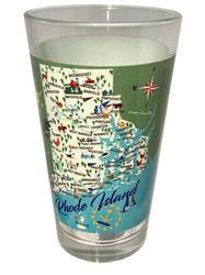 Rhode Island Pint Glass