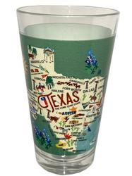 Texas Pint Glass