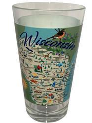 Wisconsin Pint Glass