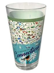 Connecticut Pint Glass