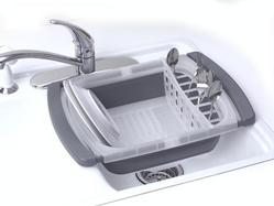 "Collapsible ""Over the Sink"" Dish Drainer"