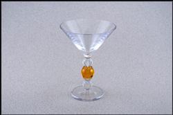 Design+ Martini - 9-oz. - Tangerine