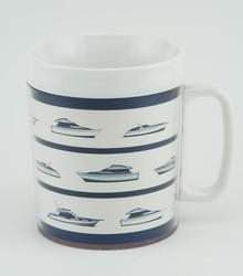 12-oz. Insulated Mug - Power Boats
