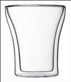 Assam Double Wall Thermo Glass - 7-oz. Medium (2)