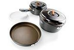 Small Hard Anodized Non-stick Cookware Set