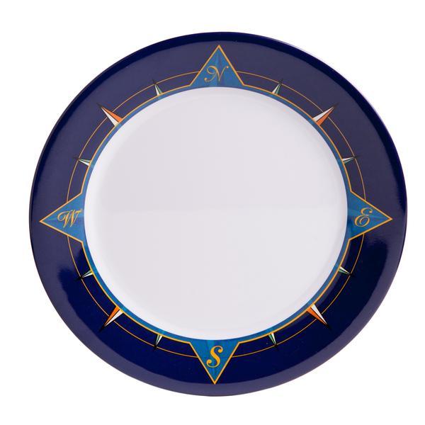 Melamine Plates 12 Platter Blue Comp