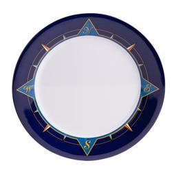 """12"""" Platter - Blue Compass"""