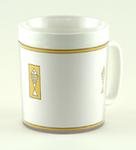 12-oz Insulated Mug - Gold Fish