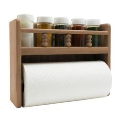 Spice Rack & Paper Towel Holder
