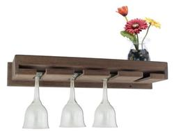 Wineglass Rack with Shelf