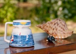 Sailboat Ceramic Mug