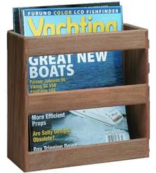 Teak Magazine / Utilty Rack