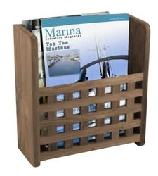 Magazine Rack with Grate Front