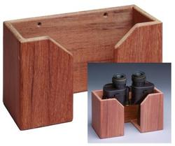Teak Large Binocular Holder