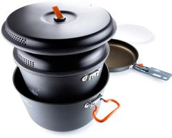 Large Hard Anodized Non-stick Cookware Set