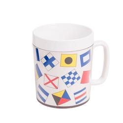 12-oz. Insulated Mug - Code Flags