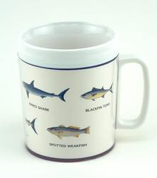 12-oz. Insulated Mug - Fish