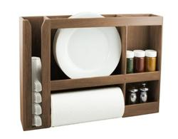 Dish/Spice/Paper Towel Rack