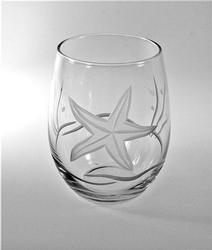 Starfish 21-oz Stemless Red Wine (Set of 4)