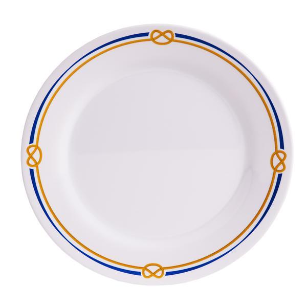 10\  Dinner - Rope  sc 1 st  Galleyware & Rope Melamine Plates | Galleyware Company