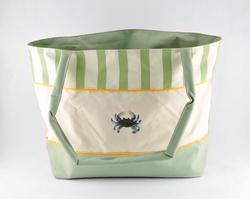 Blue Crab Beach / Tote Bag