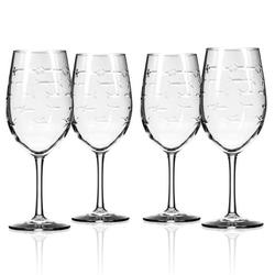 Fish 12-oz. White Wine (Set of 4)