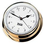 Brass Finish Clock -- 85mm