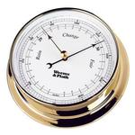 Brass Finish Barometer -- 85mm