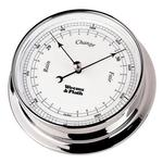 Chrome Finish Barometer -- 85mm