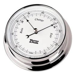 Chrome Finish Barometer -- 125mm