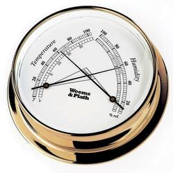 Brass Finish Comfortmeter -- 125mm