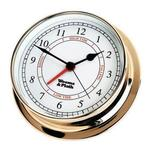 Brass Finish Time & Tide Clock -- 125mm