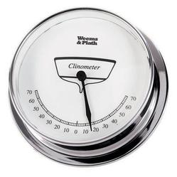 Chrome Finish Clinometer -- 85mm
