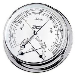 Chrome Finish Barometer w/ Comfortmeter -- 145mm