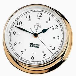 Brass Finish Radio Control Clock -- 145mm
