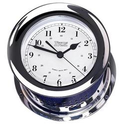Chrome Plated Atlantis Quartz Ships Bell Clock