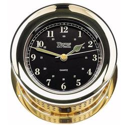 Atlantis Premiere Quartz Clock, Black Dial